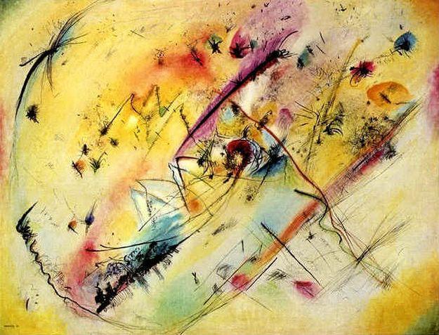 Светлая картина. 1913. Vasily Kandinsky