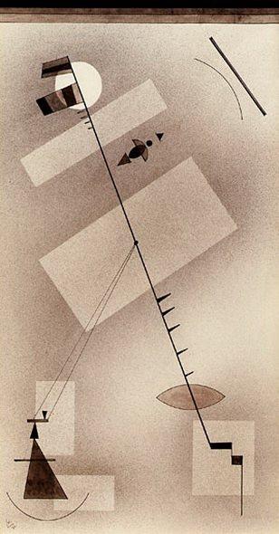 Тугая линия. 1931. Vasily Kandinsky