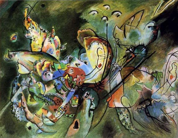 Смутное. 1917. Vasily Kandinsky