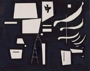 Белый – мягкий и твердый. 1932. Vasily Kandinsky