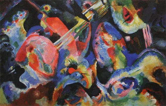 Импровизация. Потоп. 1913. Vasily Kandinsky