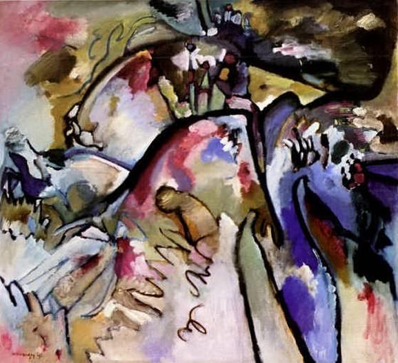Импровизация 21а. 1911. Vasily Kandinsky