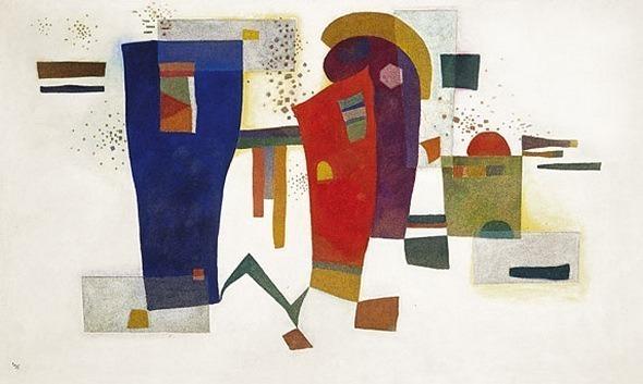 Сопровождающий контраст. 1935. Vasily Kandinsky