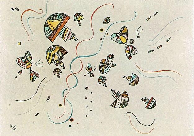 Последняя акварель. 1944. Vasily Kandinsky