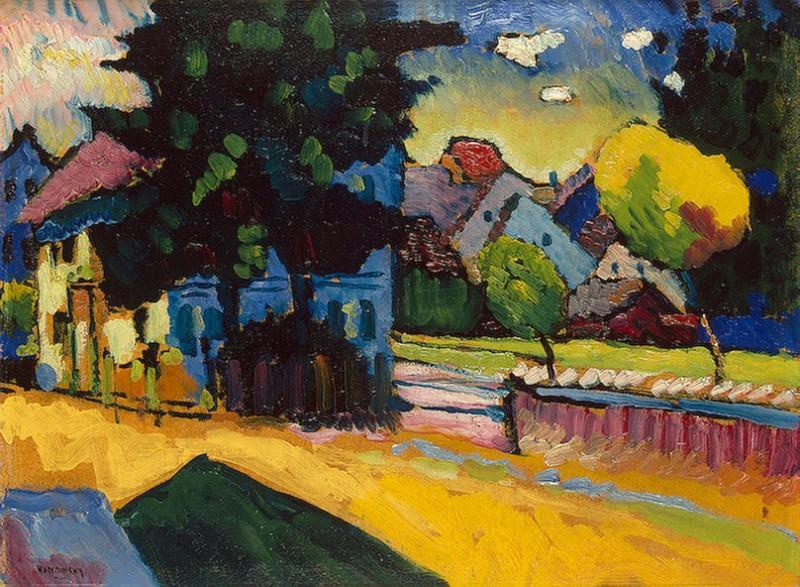 Вид Мурнау. 1908. Vasily Kandinsky
