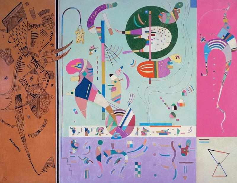 Разные части. 1940. Vasily Kandinsky