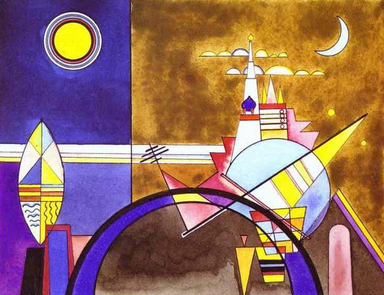 Великие башни Киева. 1924. Vasily Kandinsky