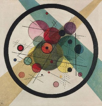 Круги в круге. 1923. Vasily Kandinsky