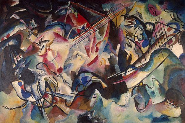 Композиция VI. 1913. Vasily Kandinsky