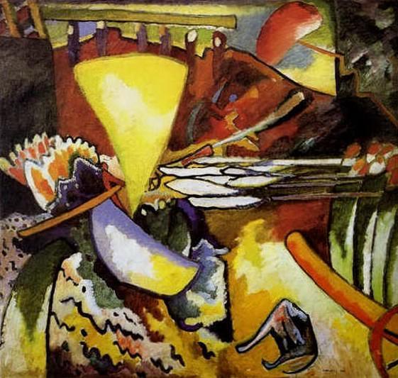 Импровизация 11. 1910. Vasily Kandinsky
