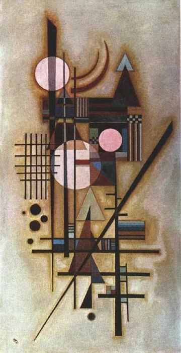 Смягченная конструкция. 1927. Vasily Kandinsky