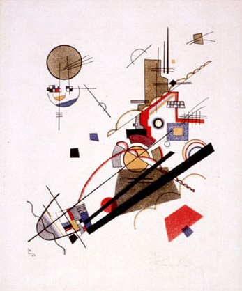 Параллельные диагонали. 1925. Vasily Kandinsky