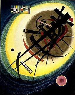 В ярком овале. 1925. Vasily Kandinsky