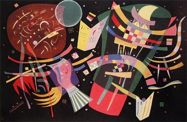 Композиция X. 1939. Vasily Kandinsky