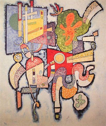 Сложное-простое. 1939. Vasily Kandinsky