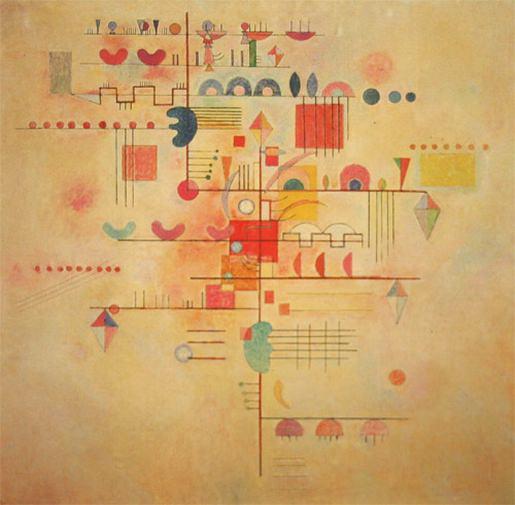 Нежное восхождение. 1934. Vasily Kandinsky