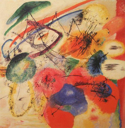 Черные штрихи I. 1913. Vasily Kandinsky