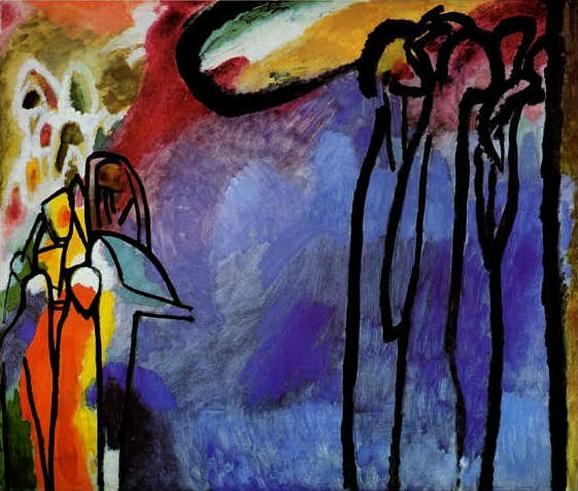 Импровизация 19. 1910. Vasily Kandinsky