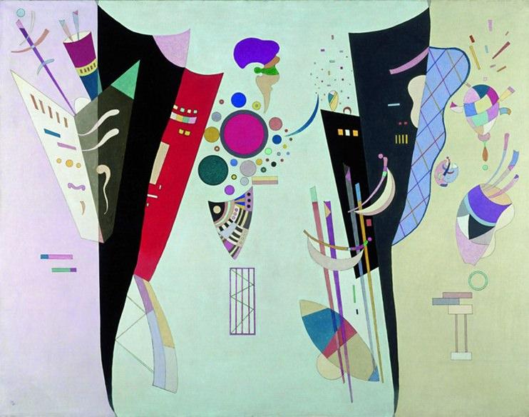 Взаимно согласие. 1942. Vasily Kandinsky