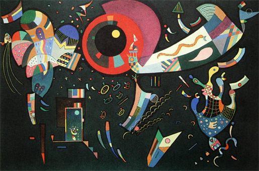Вокруг круга. 1940. Vasily Kandinsky