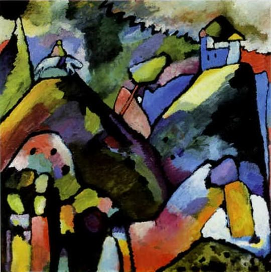 Импровизация 9. 1910. Vasily Kandinsky