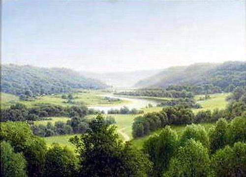 Вид на долину 1908. Gavriil Kondratenko