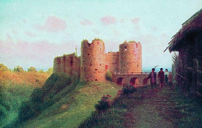 Крепость Копорье Открытка. Gavriil Kondratenko