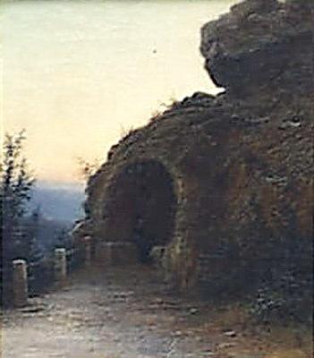 Крымский грот 1892. Gavriil Kondratenko