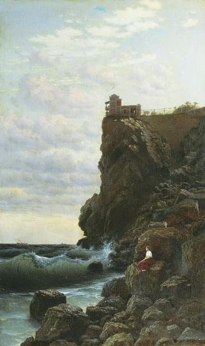 Ласточкино гнездо 1890 Холст масло 102 x 64 Переславль Зал. Gavriil Kondratenko