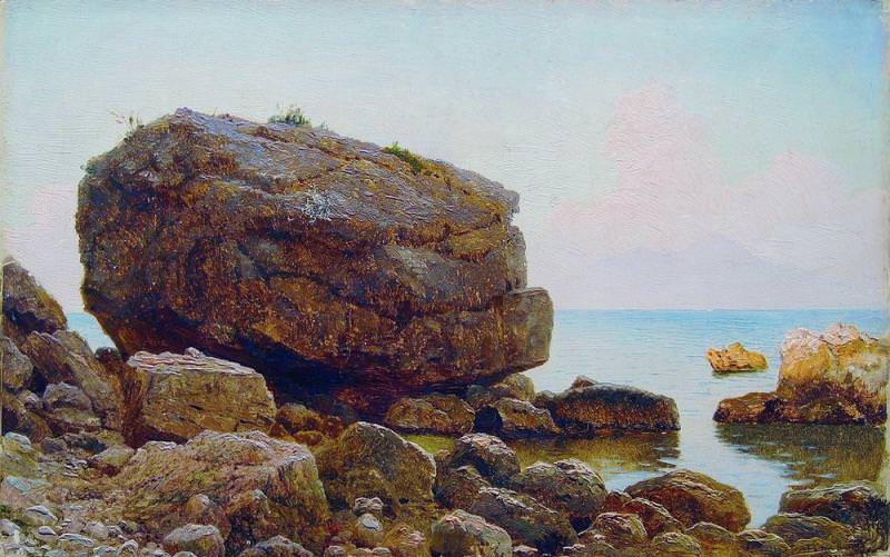 Залив Дерево масло 235 x 37 ЧС. Gavriil Kondratenko