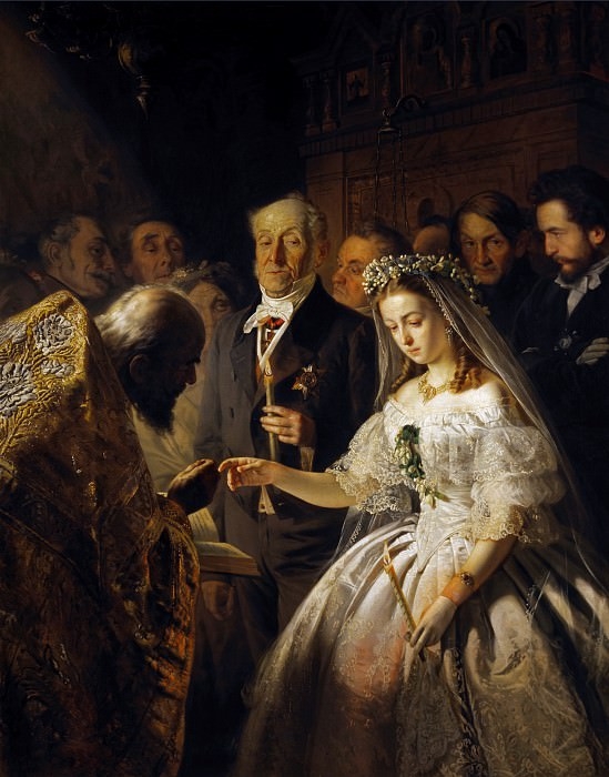 The Unequal Marriage. Vasily Pukirev
