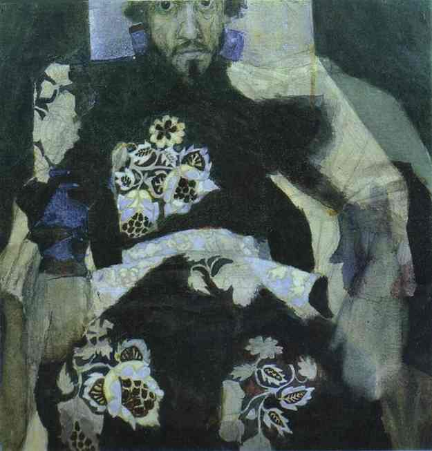 A Man in a Russian Old-Style Costume. Mikhail Vrubel