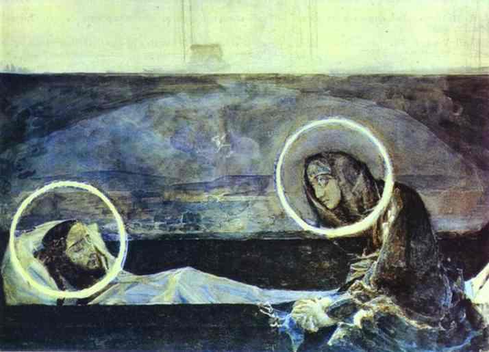 1887 Pieta II 2. Mikhail Vrubel