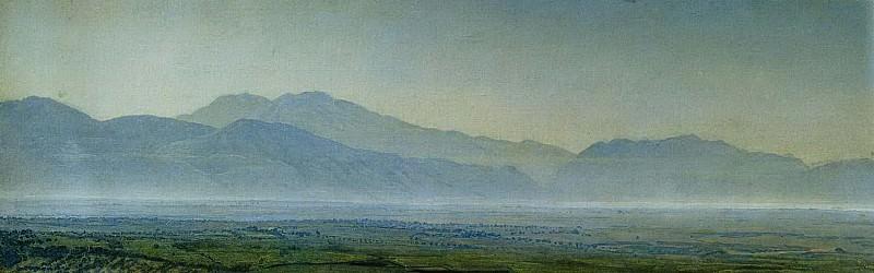 Понтийские болота. 1838. Alexander Ivanov