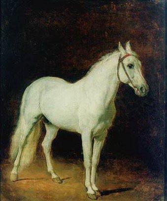 Белая лошадь. Этюд. 1820. Alexander Ivanov