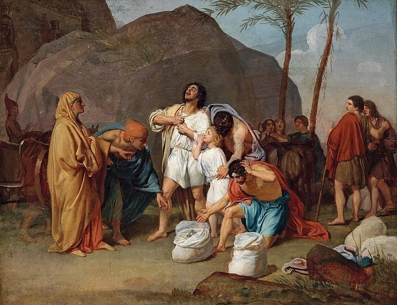 Joseph's brothers find a bowl in Benjamin's bag. Alexander Ivanov