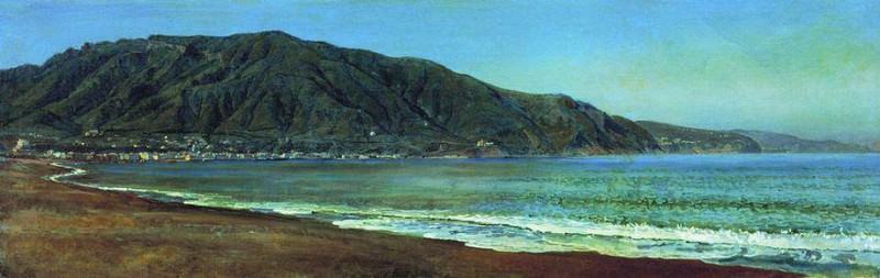 Неаполитанский залив у Кастелламаре. 1846. Alexander Ivanov