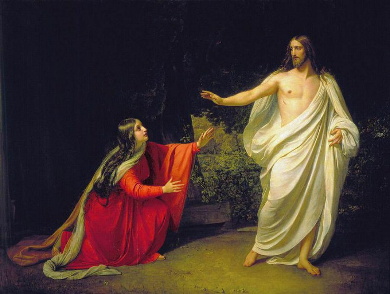 The Appearance of Christ to Mary Magdalene. Alexander Ivanov