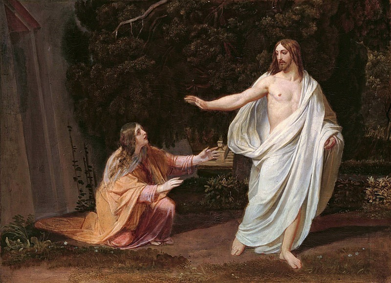 Appearance of Christ to Mary Magdalene after the Resurrection. Alexander Ivanov