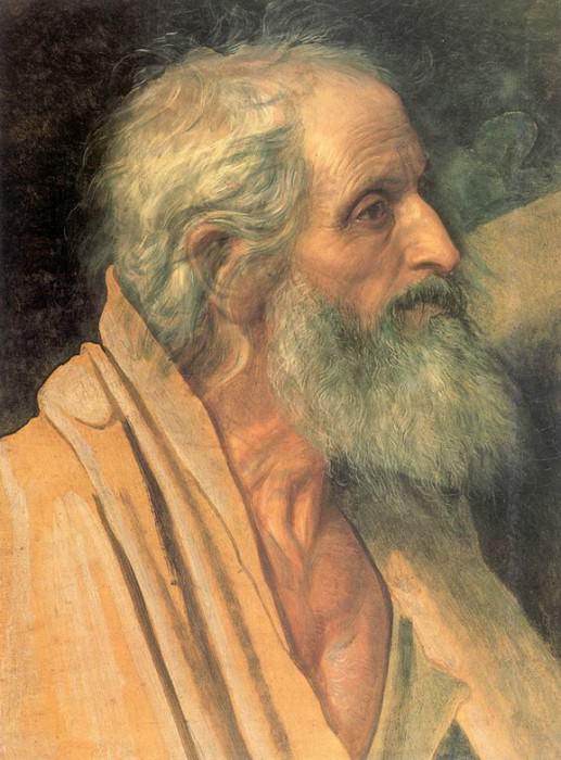 Голова апостола Андрея. 1830-1840. Александр Андреевич Иванов