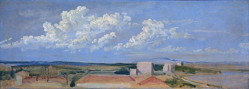 Clouds over the coast. Alexander Ivanov