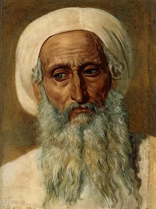 Голова фарисея в чалме. Александр Андреевич Иванов