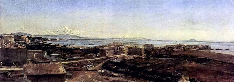 Торре дель Греко близ Помпеи. 1846. Alexander Ivanov