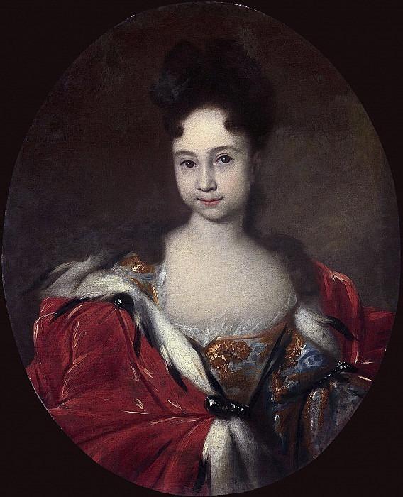 Portrait of Tsarevna Anna Petrovna. Ivan Nikitin