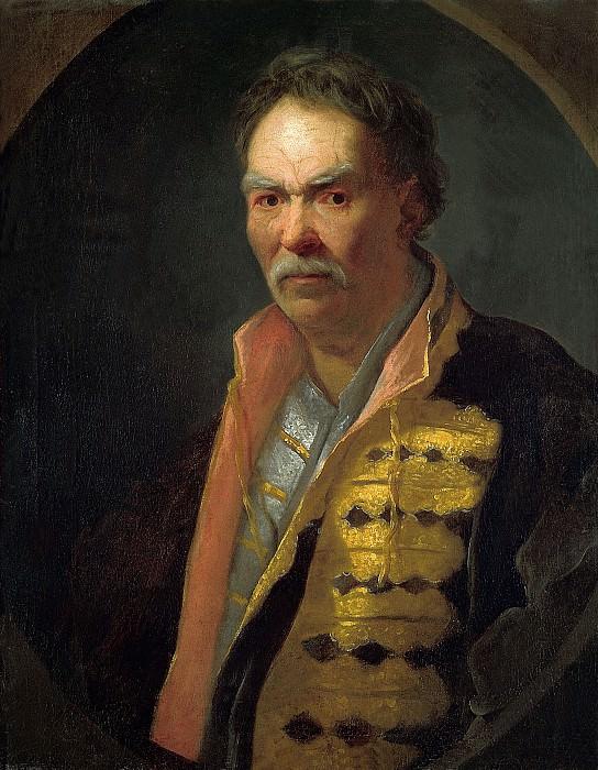 Портрет напольного гетмана. 1720-е. 76х60 см (круг). Ivan Nikitin