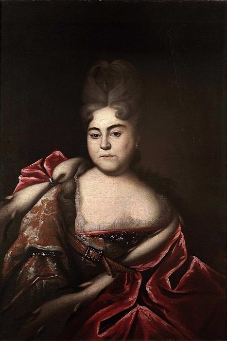 Portrait of Princess Natalia Alekseevna. Ivan Nikitin