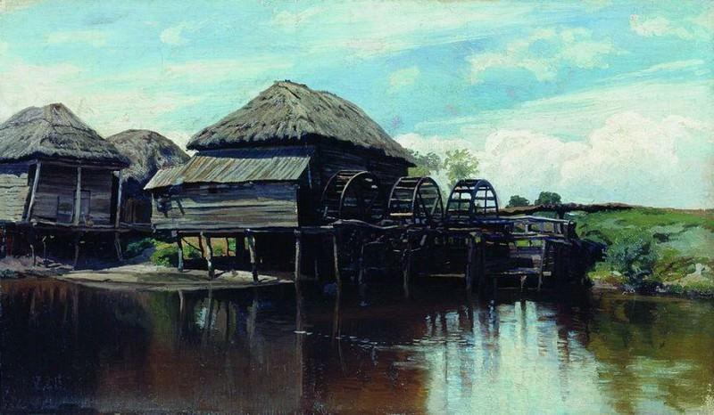 Утро на озере. Konstantin Kryzhitsky