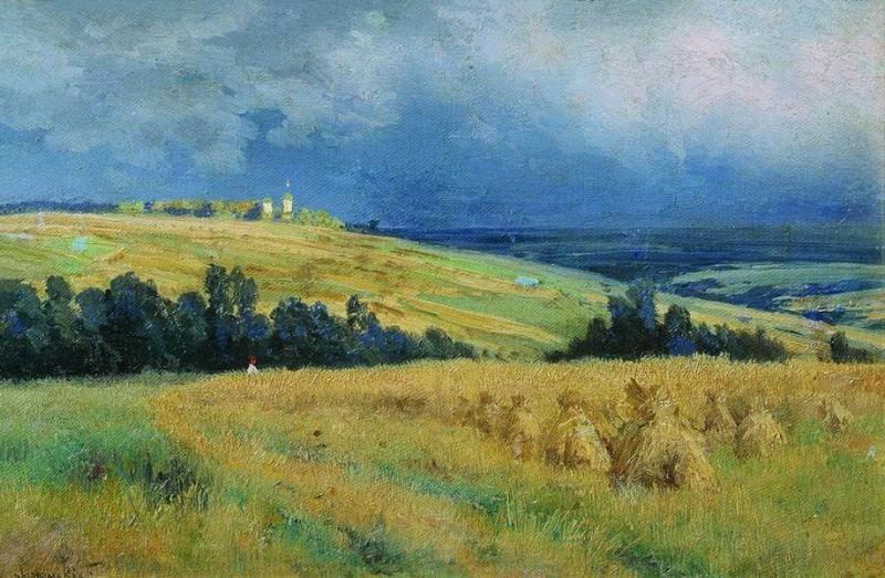 Нивы. 1892. Konstantin Kryzhitsky