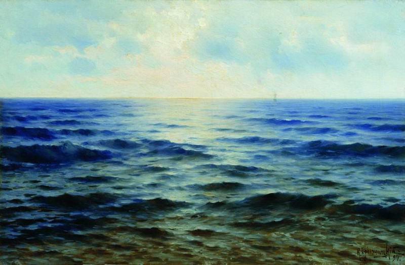 Море. 1894. Konstantin Kryzhitsky