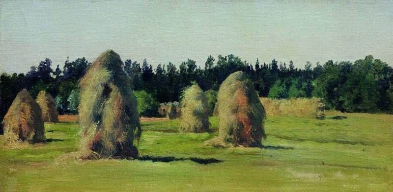 Копны сена. 1903. Константин Крыжицкий